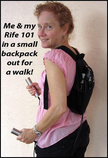 Portable Rife Machine