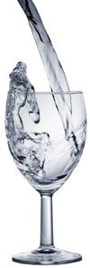 Ionized Water glass