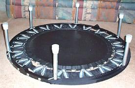 needak rebounder upside down
