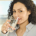 drink alkaline ionized water