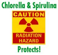 Chlorella and Radiation
