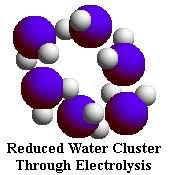 reduced water molecule