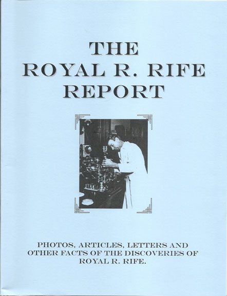 Rife 101 The Cancer Cure That Worked Book Deal